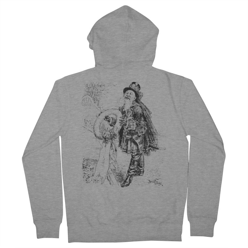 A Happy Pirate Wreath Women's French Terry Zip-Up Hoody by Natou's Artist Shop