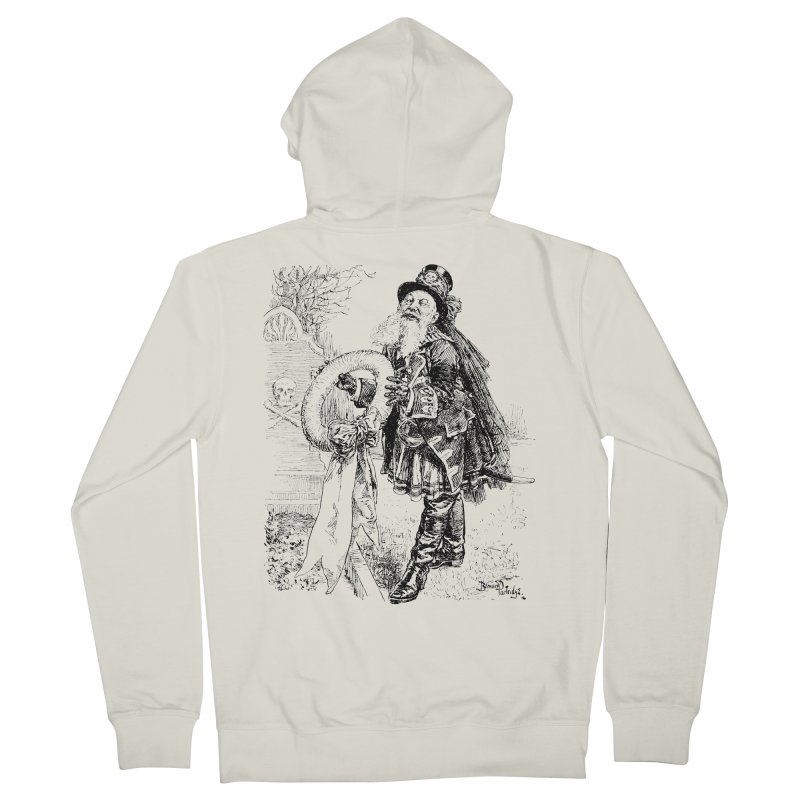 A Happy Pirate Wreath Men's Zip-Up Hoody by Natou's Artist Shop