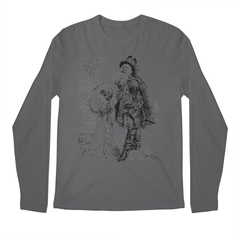 A Happy Pirate Wreath Men's Longsleeve T-Shirt by Natou's Artist Shop
