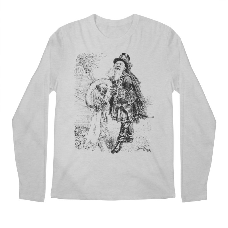 A Happy Pirate Wreath Men's Regular Longsleeve T-Shirt by Natou's Artist Shop