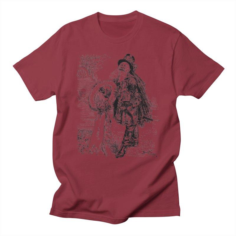 A Happy Pirate Wreath Men's T-Shirt by Natou's Artist Shop