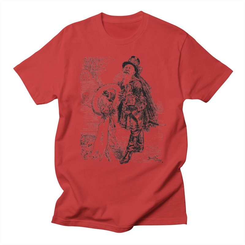 A Happy Pirate Wreath Men's Regular T-Shirt by Natou's Artist Shop