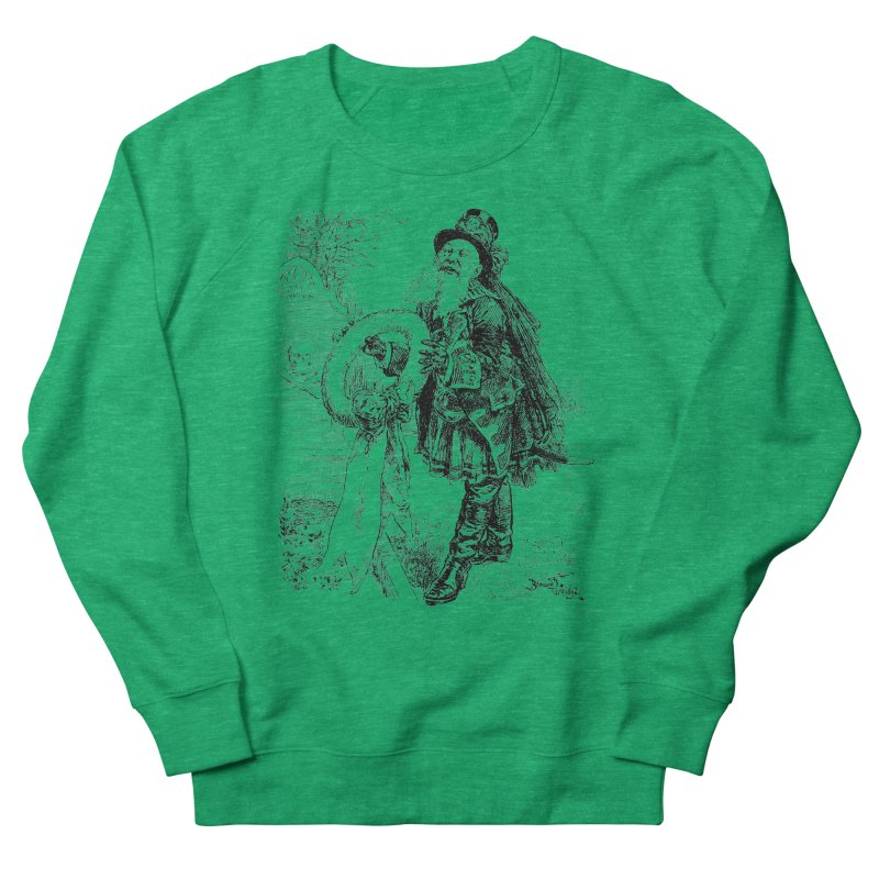A Happy Pirate Wreath Women's French Terry Sweatshirt by Natou's Artist Shop
