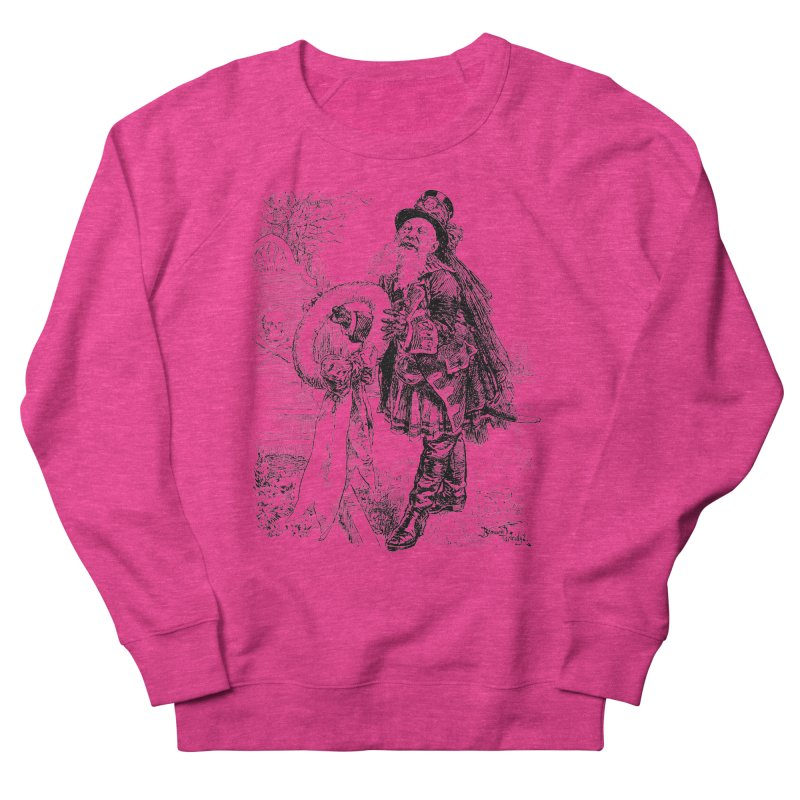 A Happy Pirate Wreath Men's French Terry Sweatshirt by Natou's Artist Shop