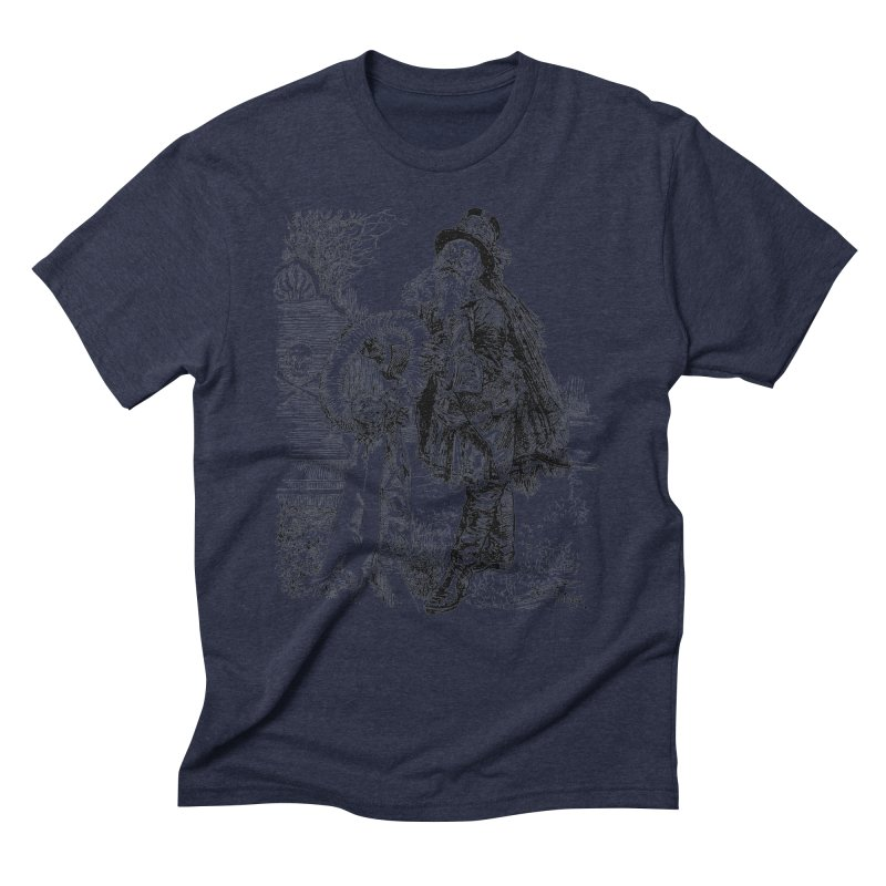 A Happy Pirate Wreath Men's Triblend T-Shirt by Natou's Artist Shop