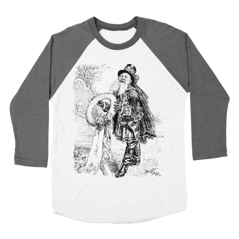 A Happy Pirate Wreath Women's Baseball Triblend T-Shirt by Natou's Artist Shop