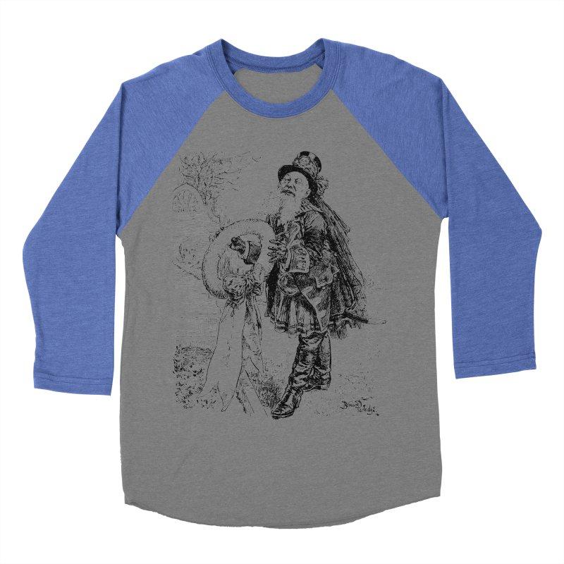 A Happy Pirate Wreath Men's Baseball Triblend Longsleeve T-Shirt by Natou's Artist Shop