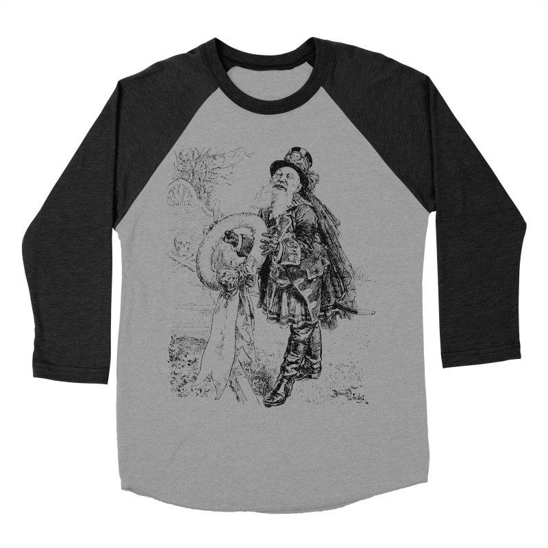 A Happy Pirate Wreath Men's Baseball Triblend T-Shirt by Natou's Artist Shop