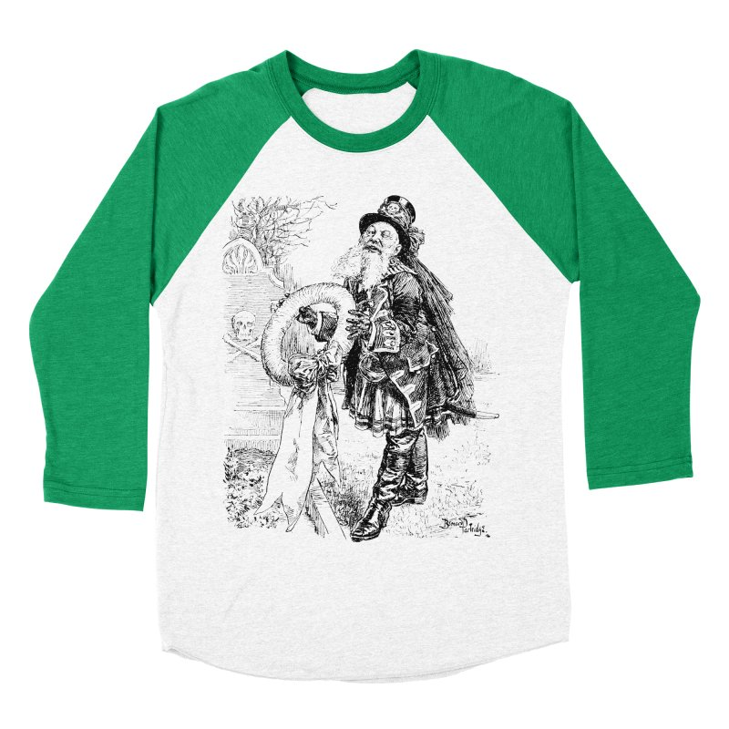 A Happy Pirate Wreath Men's Baseball Triblend Longsleeve T-Shirt by Natou's Artist Shop