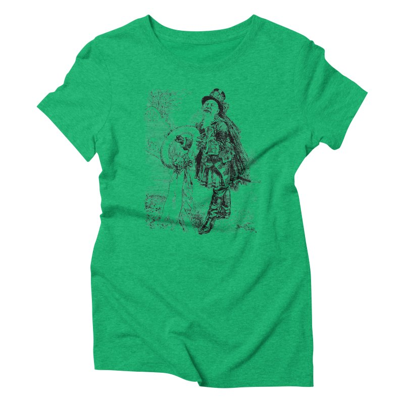 A Happy Pirate Wreath Women's Triblend T-Shirt by Natou's Artist Shop
