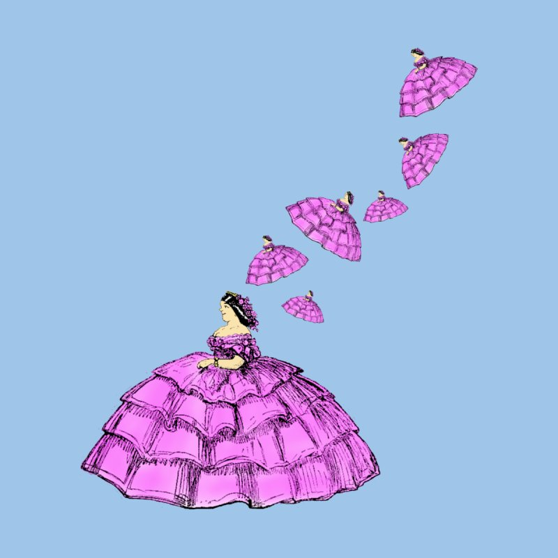 A Flying Crinoline by Natou's Artist Shop