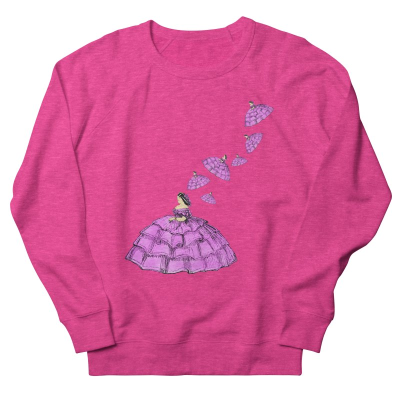 A Flying Crinoline Women's French Terry Sweatshirt by Natou's Artist Shop