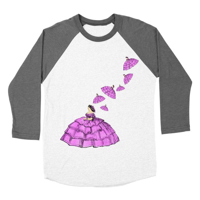 A Flying Crinoline Women's Baseball Triblend T-Shirt by Natou's Artist Shop