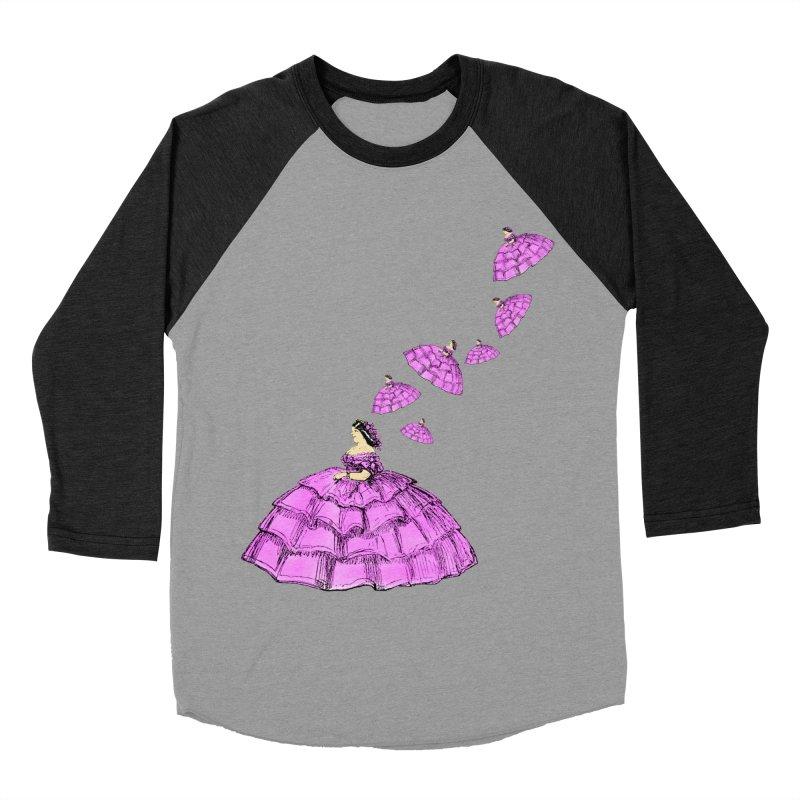 A Flying Crinoline Men's Baseball Triblend Longsleeve T-Shirt by Natou's Artist Shop