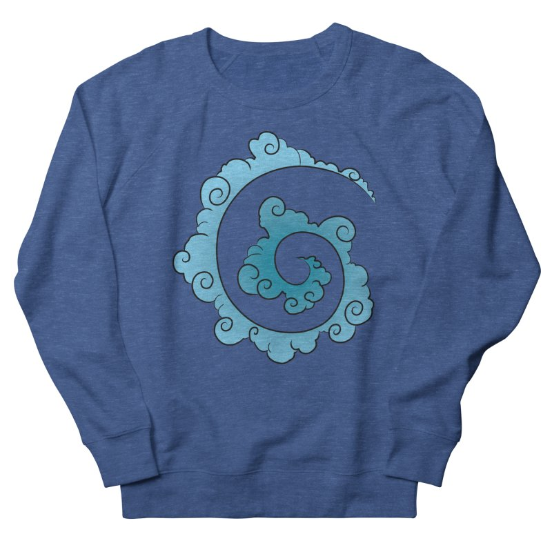 Cloud Spiral Men's Sweatshirt by Natou's Artist Shop