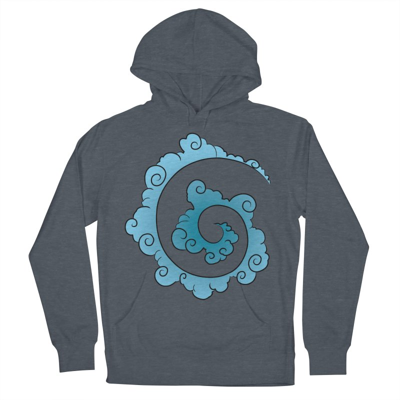 Cloud Spiral Women's Pullover Hoody by Natou's Artist Shop