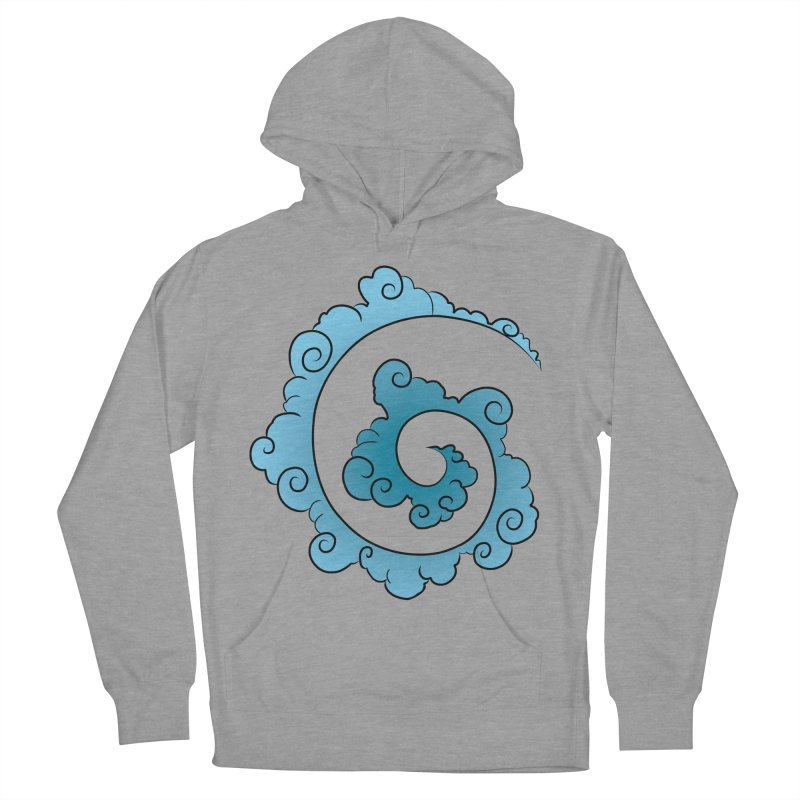 Cloud Spiral Women's Pullover Hoody by Natou's Artist Shop