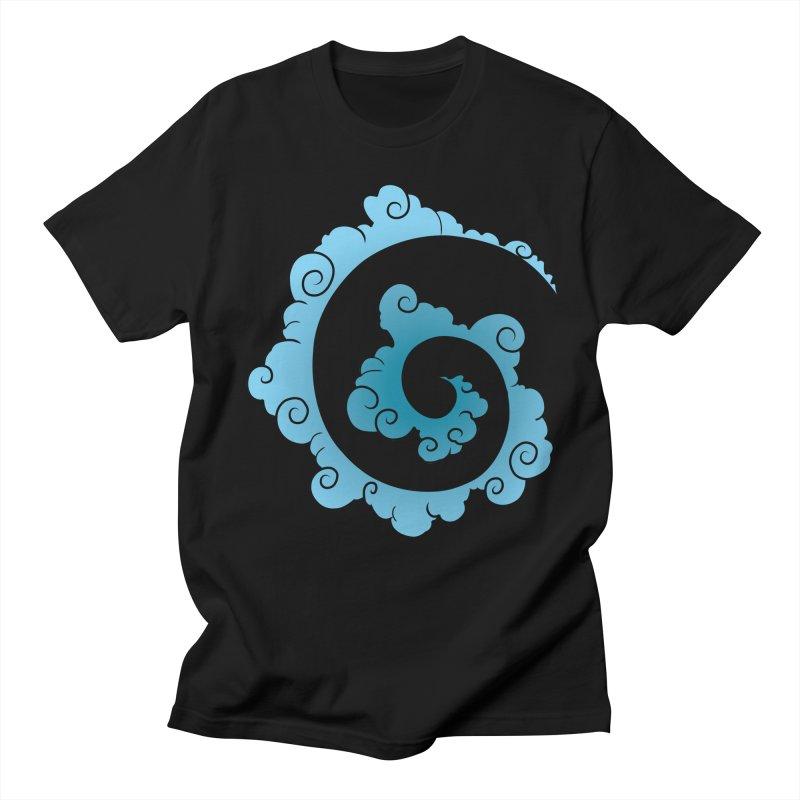 Cloud Spiral Men's Regular T-Shirt by Natou's Artist Shop