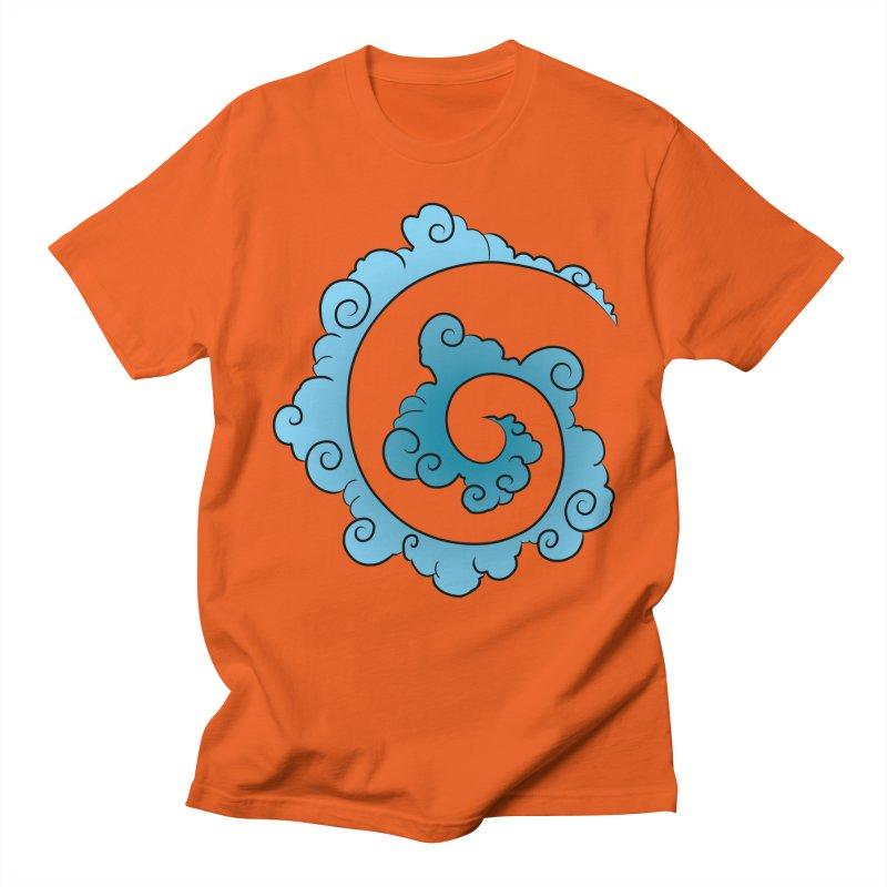 Cloud Spiral Men's T-Shirt by Natou's Artist Shop