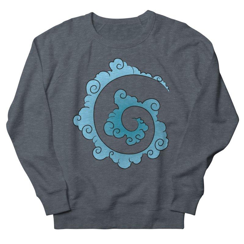 Cloud Spiral Men's Sweatshirt by Natou's Artist Shop
