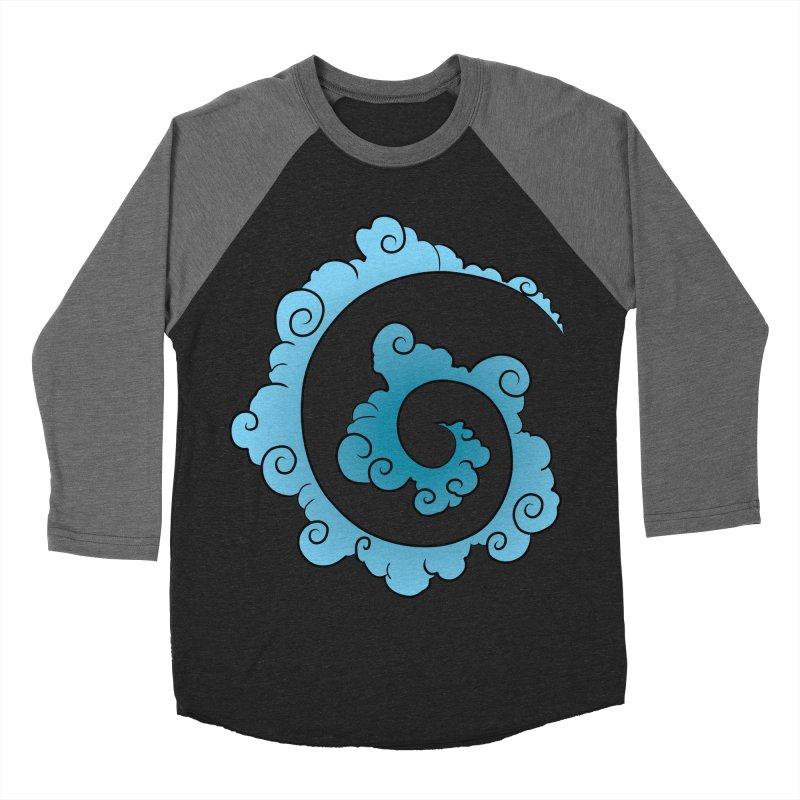 Cloud Spiral Men's Baseball Triblend T-Shirt by Natou's Artist Shop