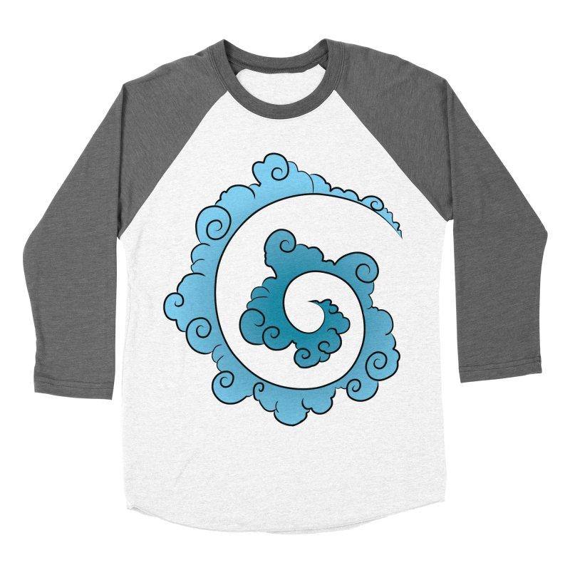 Cloud Spiral Men's Baseball Triblend Longsleeve T-Shirt by Natou's Artist Shop