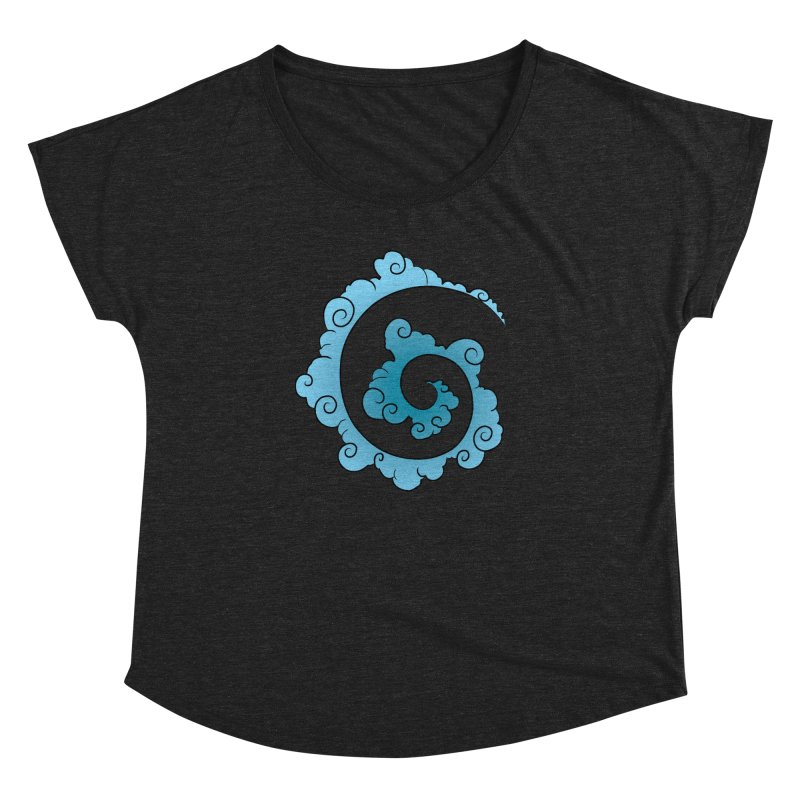 Cloud Spiral Women's Dolman by Natou's Artist Shop