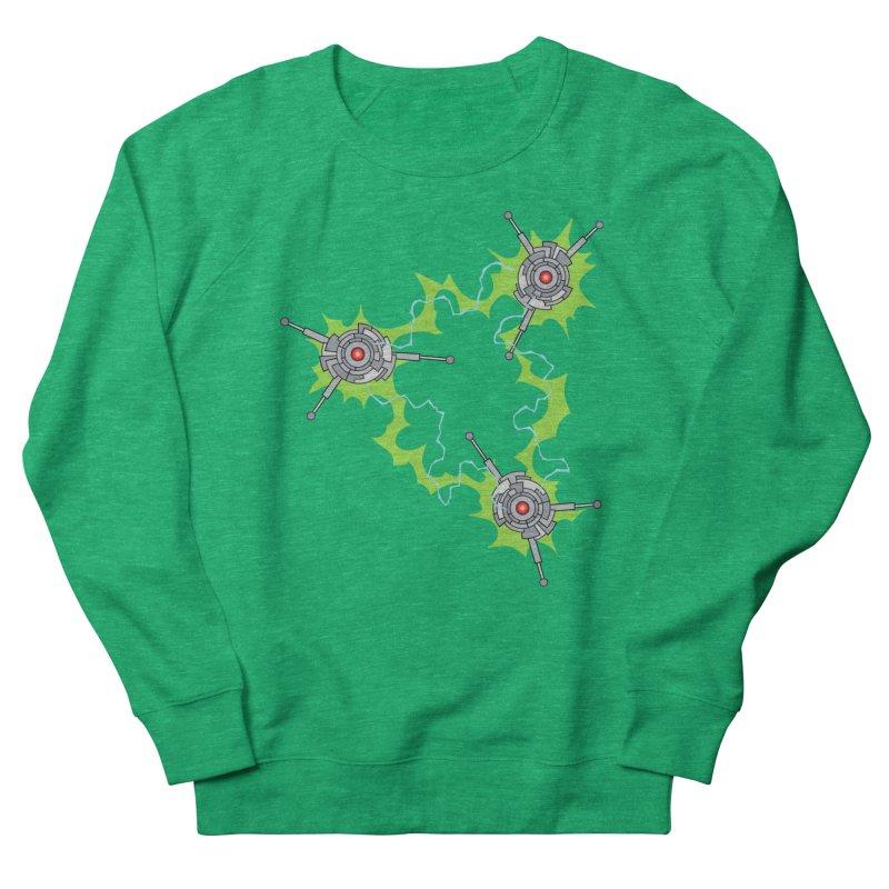 Electric Trinity Women's Sweatshirt by Natou's Artist Shop