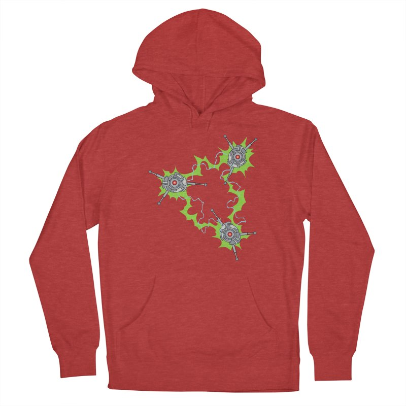 Electric Trinity Women's French Terry Pullover Hoody by Natou's Artist Shop