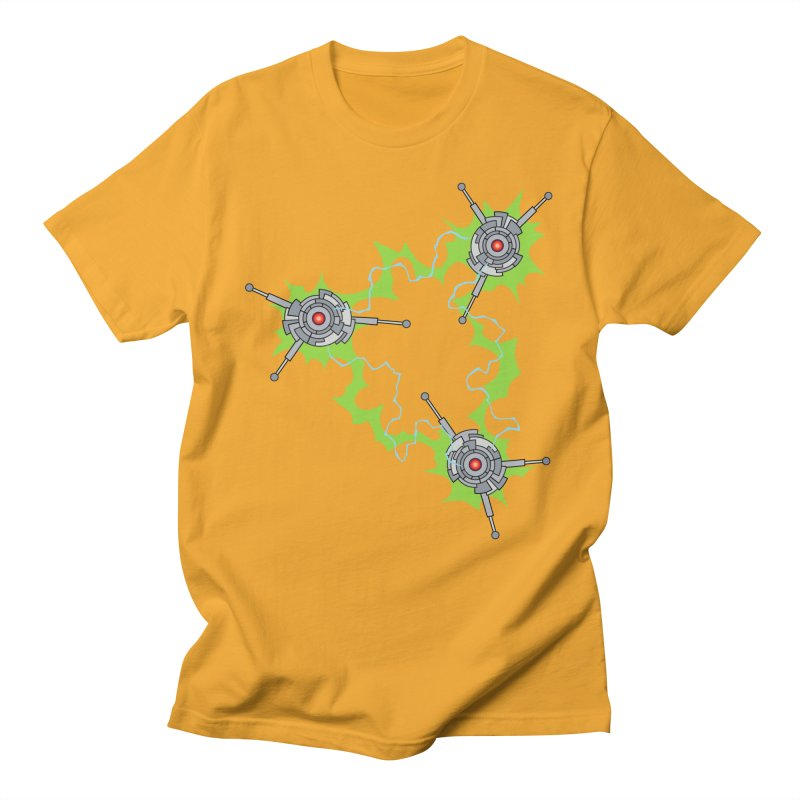 Electric Trinity Men's T-Shirt by Natou's Artist Shop