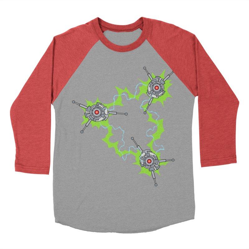 Electric Trinity Women's Longsleeve T-Shirt by Natou's Artist Shop