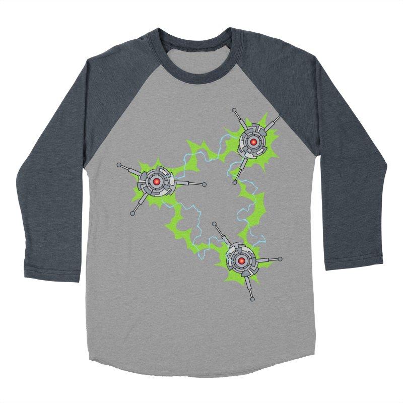 Electric Trinity Men's Baseball Triblend Longsleeve T-Shirt by Natou's Artist Shop
