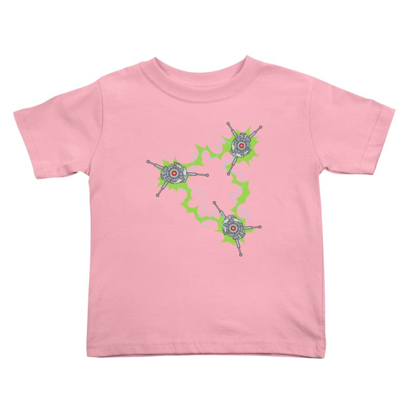 Electric Trinity Kids Toddler T-Shirt by Natou's Artist Shop