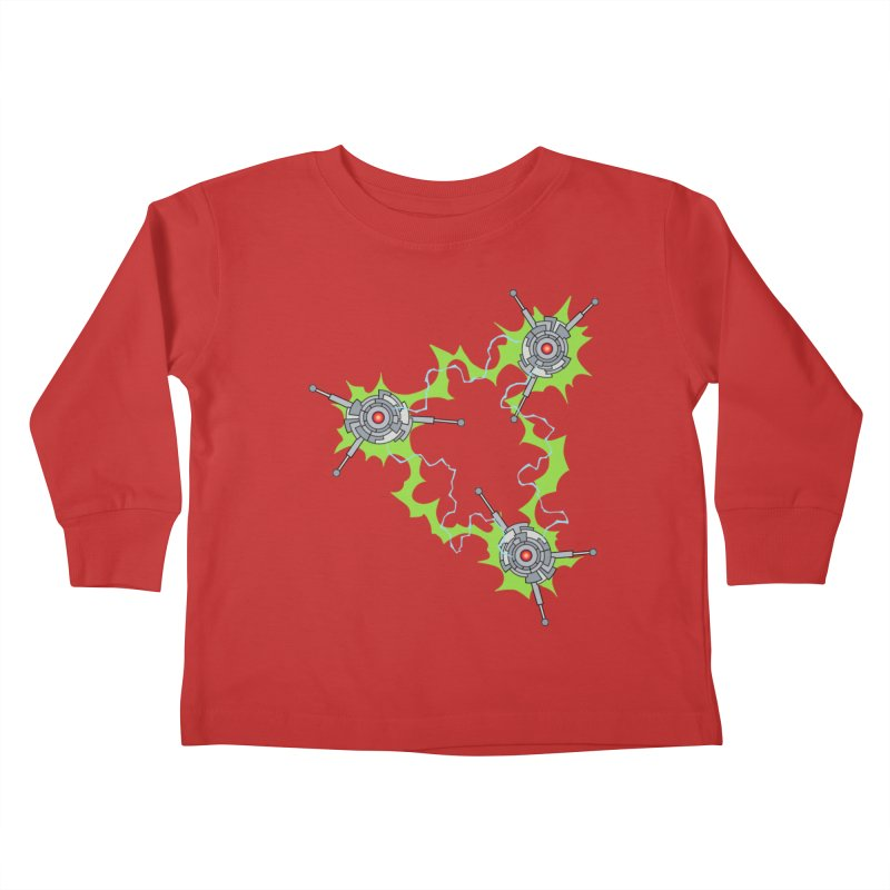 Electric Trinity Kids Toddler Longsleeve T-Shirt by Natou's Artist Shop