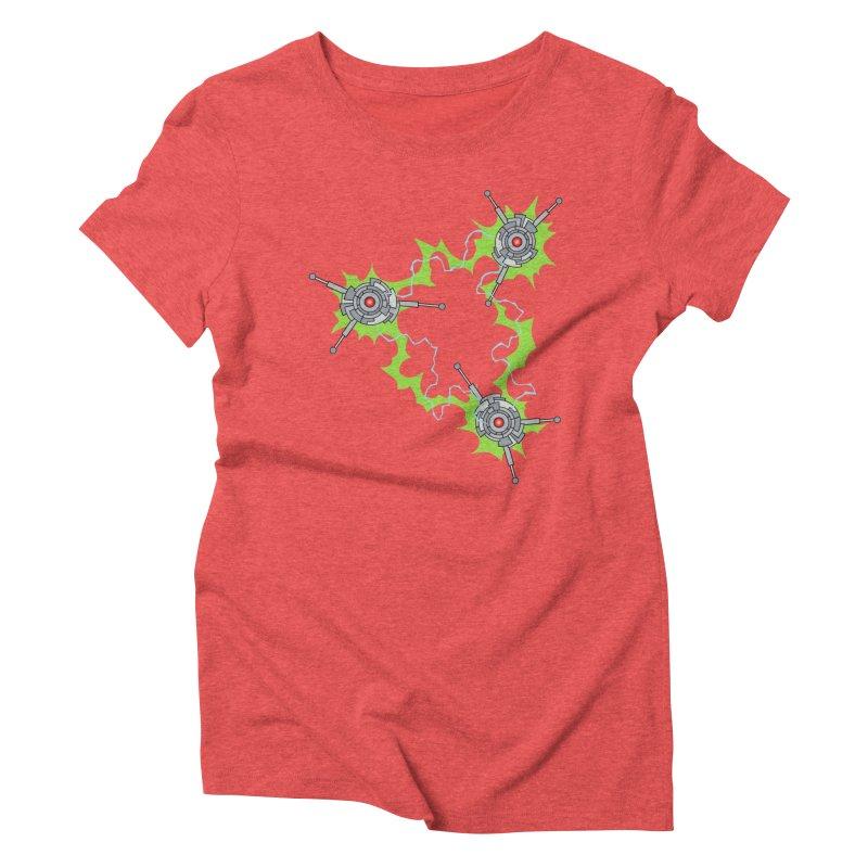Electric Trinity Women's Triblend T-Shirt by Natou's Artist Shop
