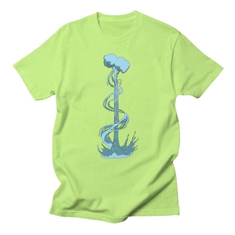 Water Blast Men's T-Shirt by Natou's Artist Shop
