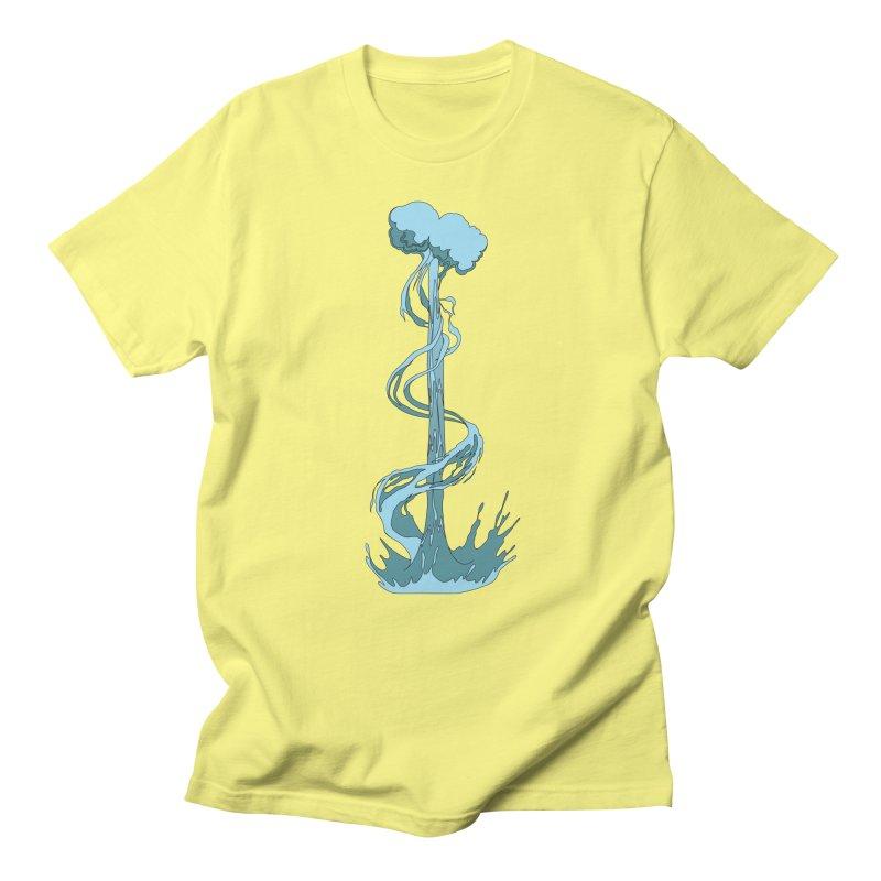Water Blast Men's Regular T-Shirt by Natou's Artist Shop