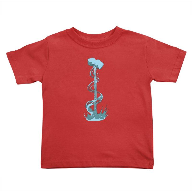 Water Blast Kids Toddler T-Shirt by Natou's Artist Shop