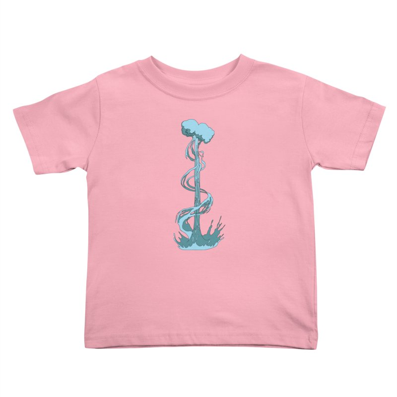 Water Blast Kids Toddler T-Shirt by Natou's Artist Shop