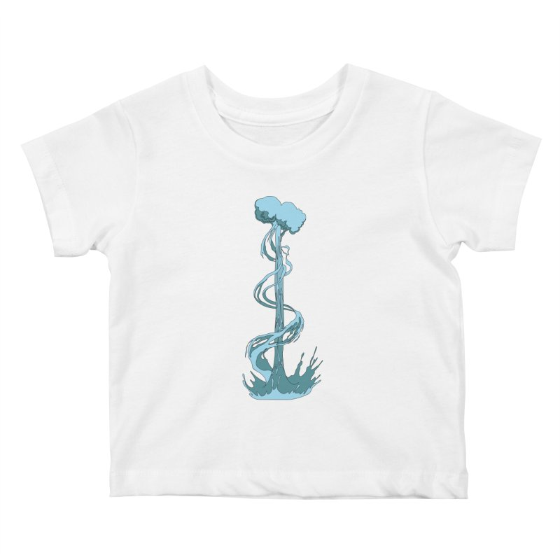 Water Blast Kids Baby T-Shirt by Natou's Artist Shop