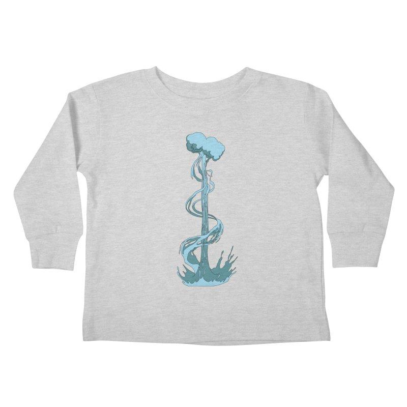 Water Blast Kids Toddler Longsleeve T-Shirt by Natou's Artist Shop