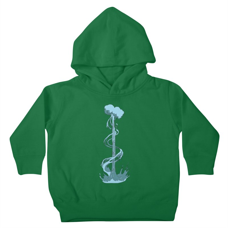 Water Blast Kids Toddler Pullover Hoody by Natou's Artist Shop