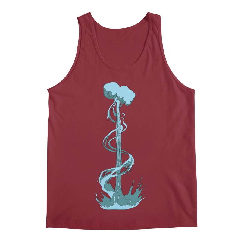 Water Blast Men's Tank by Natou's Artist Shop