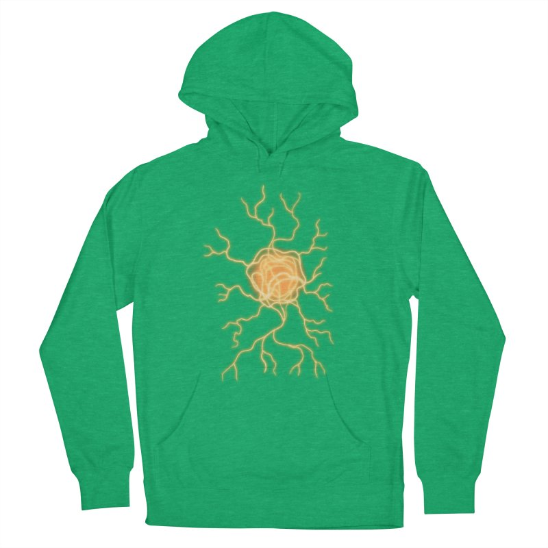 Lightning Heart Women's French Terry Pullover Hoody by Natou's Artist Shop