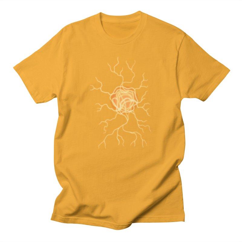 Lightning Heart Men's T-Shirt by Natou's Artist Shop