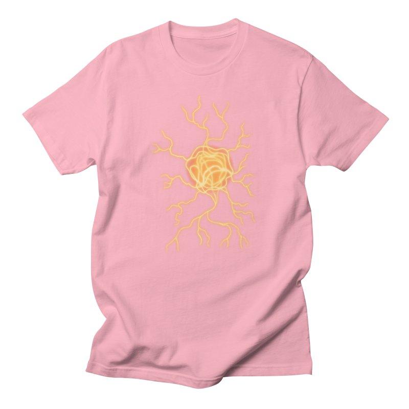 Lightning Heart Men's Regular T-Shirt by Natou's Artist Shop
