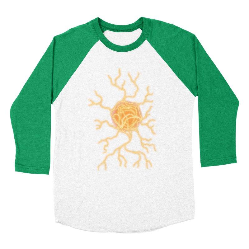 Lightning Heart Men's Baseball Triblend Longsleeve T-Shirt by Natou's Artist Shop