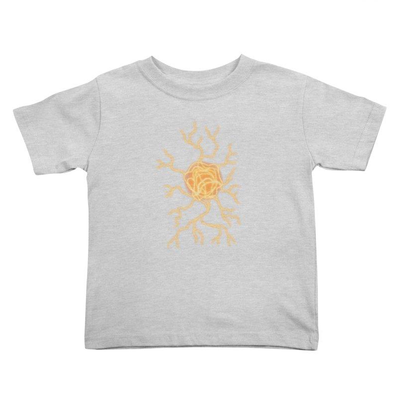 Lightning Heart Kids Toddler T-Shirt by Natou's Artist Shop