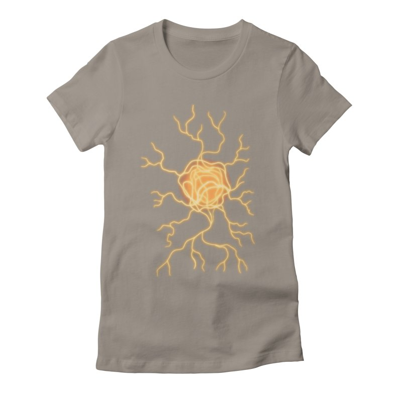 Lightning Heart Women's T-Shirt by Natou's Artist Shop