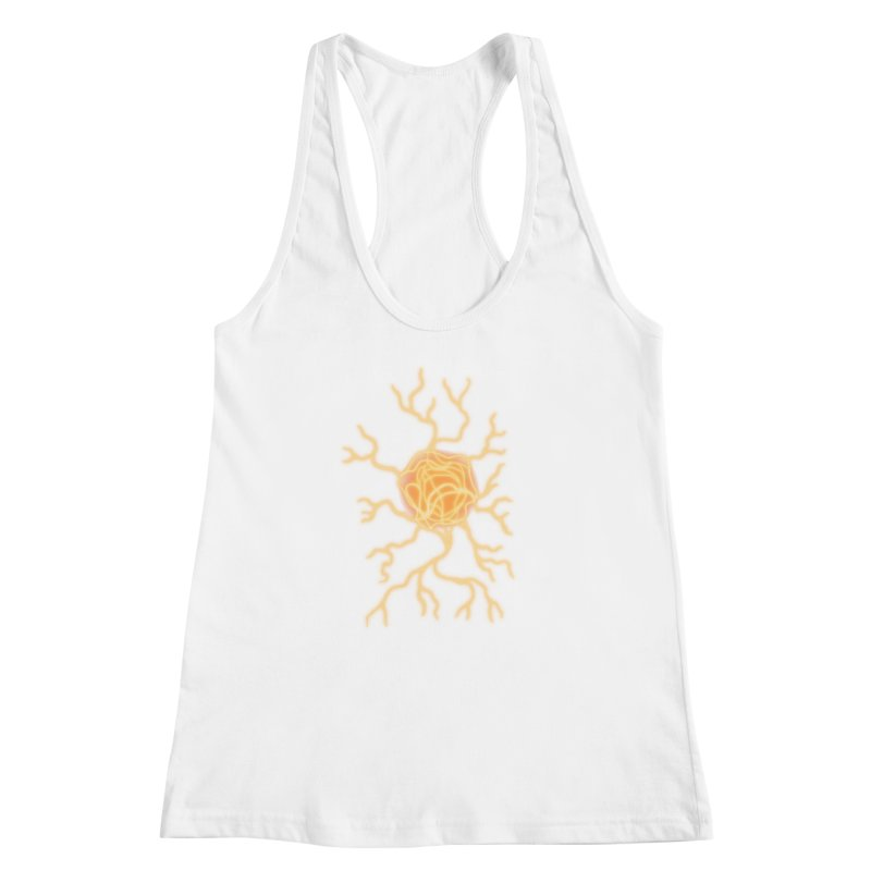 Lightning Heart Women's Racerback Tank by Natou's Artist Shop